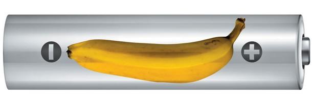 Banana é energia