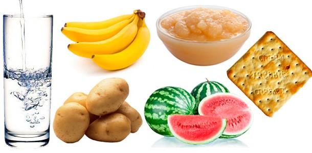 Alimentos Diarréia