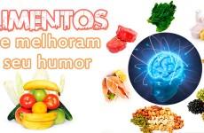 Alimentos que melhoram o humor