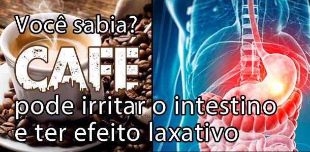 Café pode irritar o intestino